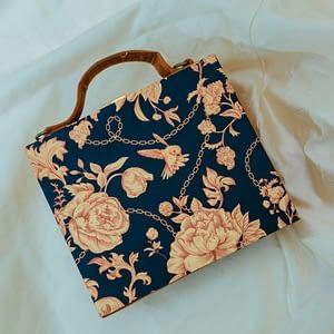 Bold Floral Suitcase Clutch - IL44sc