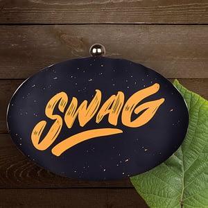 Savage Swag Print Clutch - IL38c