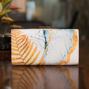 Chic Abstract Print Big Clutch - IL46pc
